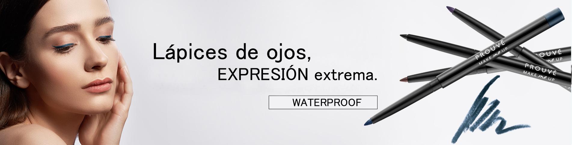 lápices de ojos resistentes al agua, prouvé