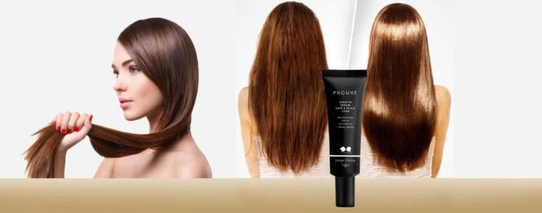 Serum de queratina cuidado de cabello & cuero cabelludo